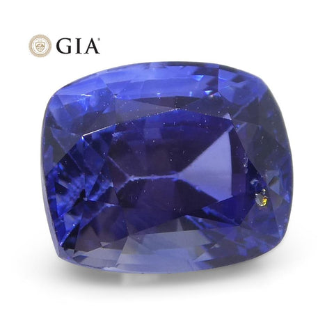 1.46ct Cushion Blue Sapphire GIA Certified Sri Lanka