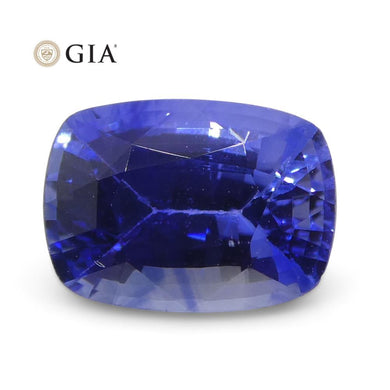 1.15ct Cushion Blue Sapphire GIA Certified Sri Lanka