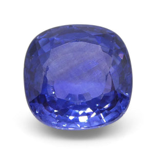 4.03ct Cushion Blue Sapphire GIA Certified Sri Lanka - Skyjems Wholesale Gemstones