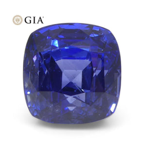 6.23ct Cushion Blue Sapphire GIA Certified Sri Lanka - Skyjems Wholesale Gemstones