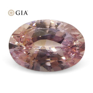 Padparadscha Sapphire 1.51 cts 8.44 x 5.84 x 3.77 mm Oval Orangy Pink  $6800
