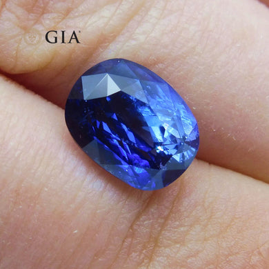 4.11 ct GIA Certified Sri Lankan/Ceylonese Unheated Sapphire - Skyjems Wholesale Gemstones