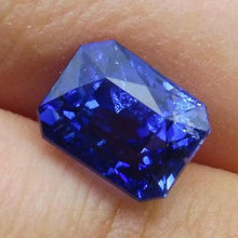 3.39ct GIA Certified Madagascar Unheated Sapphire Radiant Cut