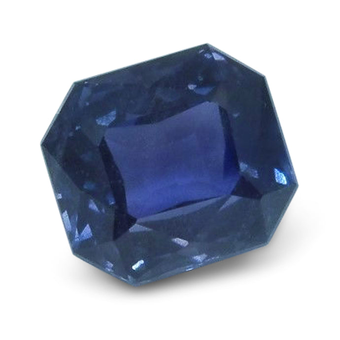 5.65ct. Octagonal Cut GIA Certified Sapphire