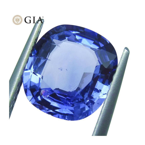 3.08ct GIA Certified Blue Sapphire