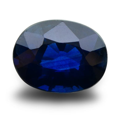 GIA Certified Sapphire 3.32 Oval Mixed Cut Blue 2195654853 2500
