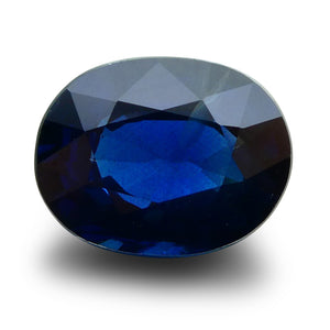 GIA Certified Sapphire 4.07 Oval Mixed Cut Blue 1192654869 3000