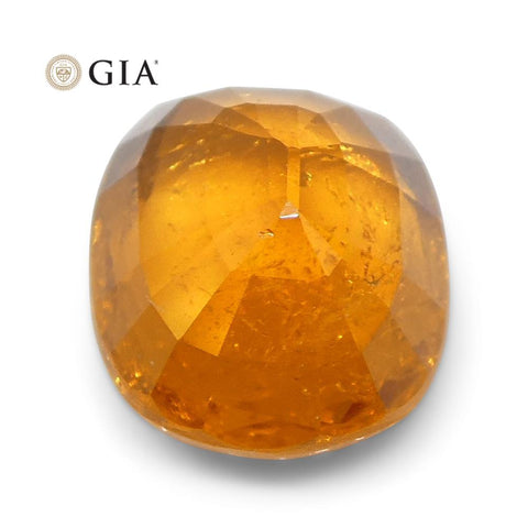 2.23ct Vivid Fanta Orange Spessartine/Spessartite Garnet Cushion, GIA Certified