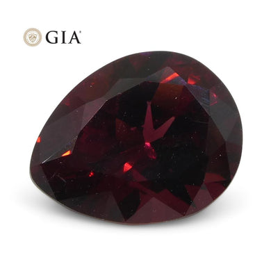 1.54ct Pear Red Spinel GIA Certified Vietnam Unheated - Skyjems Wholesale Gemstones