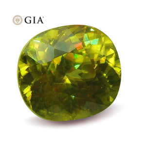 2.94 ct GIA Certified Sphene (Titanite)