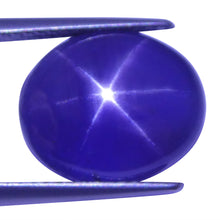 8.07 ct Color Change Star Sapphire Oval GIA Certified Unheated, Sri Lanka