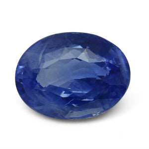 10.03ct. Oval Cut GIA Certified Unheated Sapphire