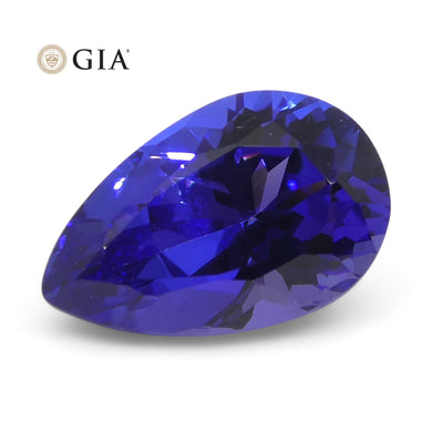 Tanzanite 2.33 cts 10.56 x 6.75 x 5.31 Pear Violetish Blue  $2800