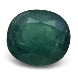 Grandidierite 5.84 cts 12.15x10.73x6.66mm Oval Blue Green  $235