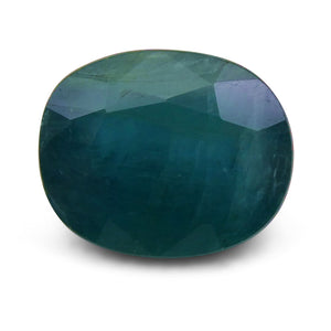 4.51 ct Oval  Grandidierite - Skyjems Wholesale Gemstones