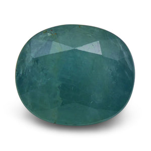 6.98 ct Oval Grandidierite - Skyjems Wholesale Gemstones