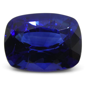 3.15ct GRS Certified Royal Blue Cushion Cut Sapphire from Sri Lanka/Ceylon - Skyjems Wholesale Gemstones