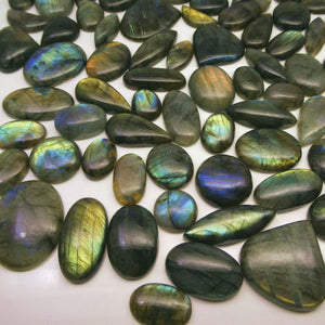 1000 cts Labradorite Cabochon Wholesale Parcel - Skyjems Wholesale Gemstones