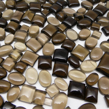 1075ct Smoky Quartz Cabochon Oval/Round/Square/Pear Wholesale Lot