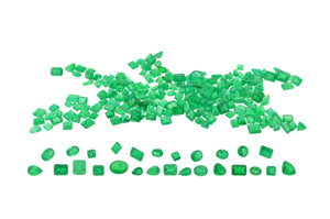 Parcel Colombian Emerald 98cts / 229 Stones
