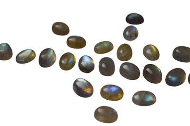 Labradorite 300cts 205st 8x6mm Oval WHOLESALE LOT