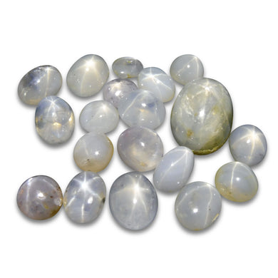 44.55 cts Star Sapphire Wholesale Lot