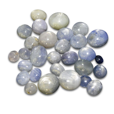 101.75 cts Star Sapphire Wholesale Lot