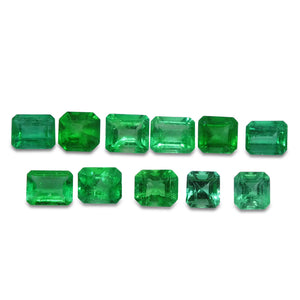 Colombian Emerald 6.19 cts 11st Emerald Cut WHOLESALE LOT