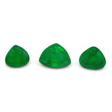 Colombian Emerald 1.61 cts 3st Pear  WHOLESALE LOT
