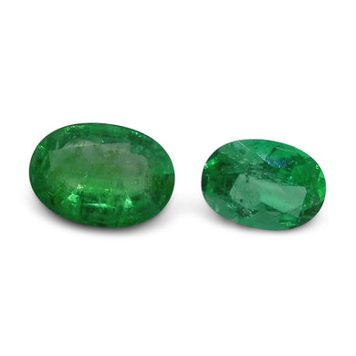 Colombian Emerald 1.65 cts 2st Oval Wholesale Lot - Skyjems Wholesale Gemstones