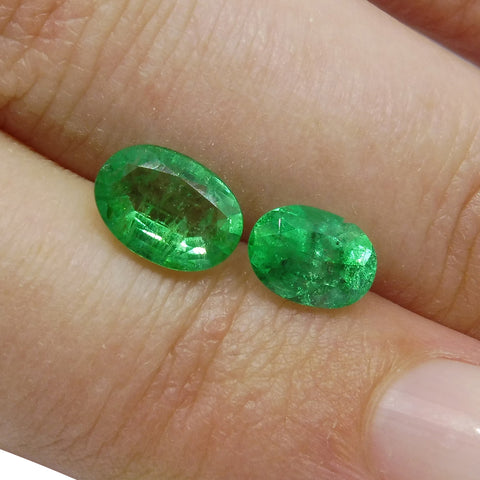 Colombian Emerald 1.65 cts 2st Oval Wholesale Lot
