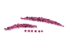 Ruby 30.96 cts 160 stones Oval/Pear Wholesale Lot
