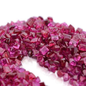 Ruby 25.71 cts 833 stones 1mm-1.50mm Square Mix Wholesale Lot - Skyjems Wholesale Gemstones