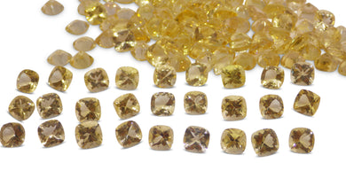 Heliodor 131.21 cts 154 stones Wholesale Lot - Skyjems Wholesale Gemstones