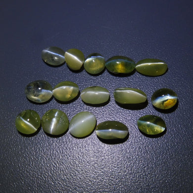 Chrysoberyl Cat's Eye 18.12 cts 15 stones Wholesale Lot