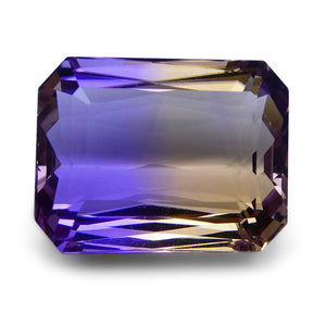 Ametrine 17.72 cts 17.38x13.38x9.10mmmm Rectangular Purple and Yellow  $265