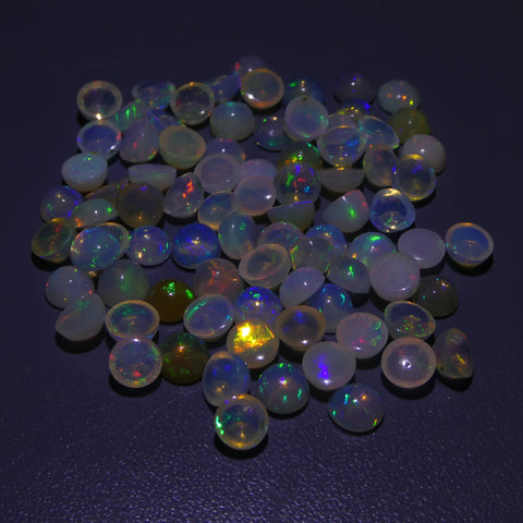 28.32ct Opal  Round Cabochon Wholesale Lot