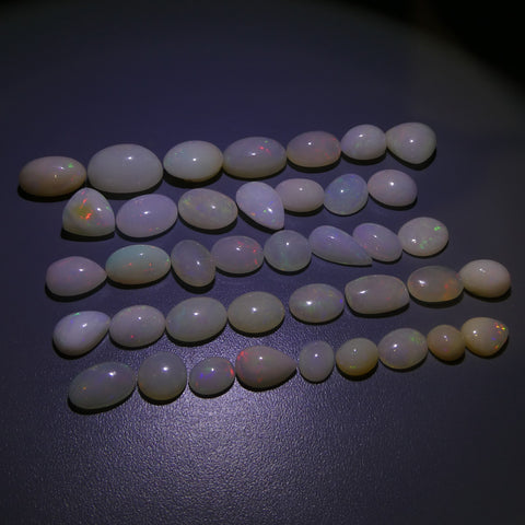 137.19ct Opal Oval/Pear/Trillion/Cushion/Round Wholesale Lot