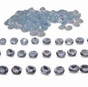22.45ct Aquamarine Oval Wholesale Lot - Skyjems Wholesale Gemstones