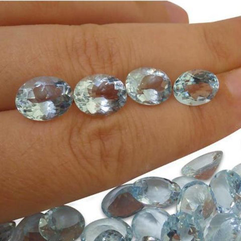 22.58ct Aquamarine Oval Wholesale Lot