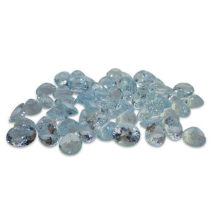22.58ct Aquamarine Oval Wholesale Lot - Skyjems Wholesale Gemstones