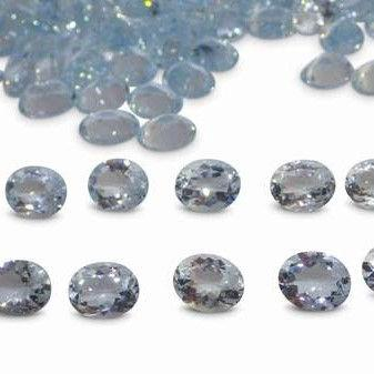 22.45ct Aquamarine Oval Wholesale Lot