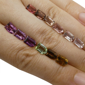 10.3 ct Multi Colour Tourmaline Fancy / Ghost Wholesale Lot