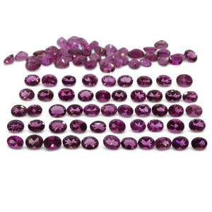 15.76 ct Pink Tourmaline Oval Wholesale Lot - Skyjems Wholesale Gemstones