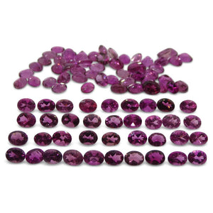 15.23 ct Pink Tourmaline Oval Wholesale Lot - Skyjems Wholesale Gemstones