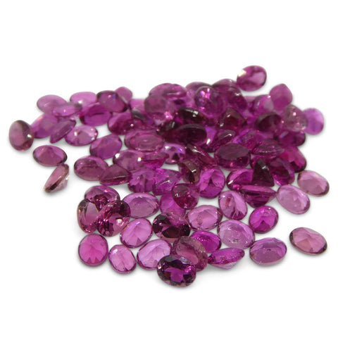 15.23 ct Pink Tourmaline Oval Wholesale Lot