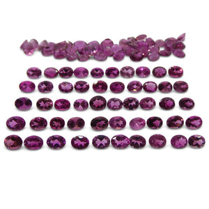 15.75 ct Pink Tourmaline Oval Wholesale Lot - Skyjems Wholesale Gemstones