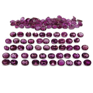 17.17 ct Pink Tourmaline Oval Wholesale Lot - Skyjems Wholesale Gemstones