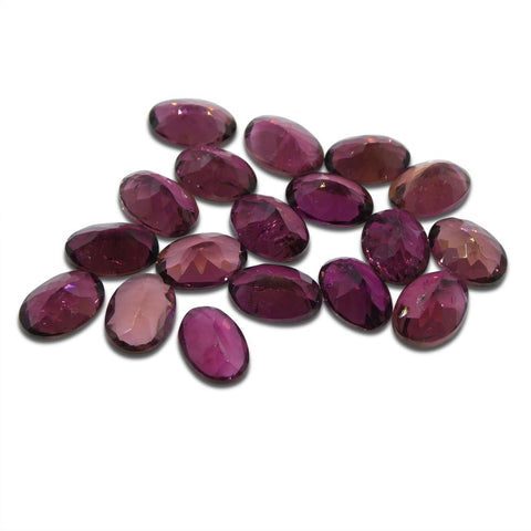 13.04 ct Pink Tourmaline Oval Wholesale Lot