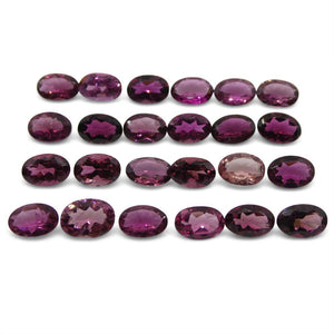 10.77 ct Pink Tourmaline Oval Wholesale Lot - Skyjems Wholesale Gemstones